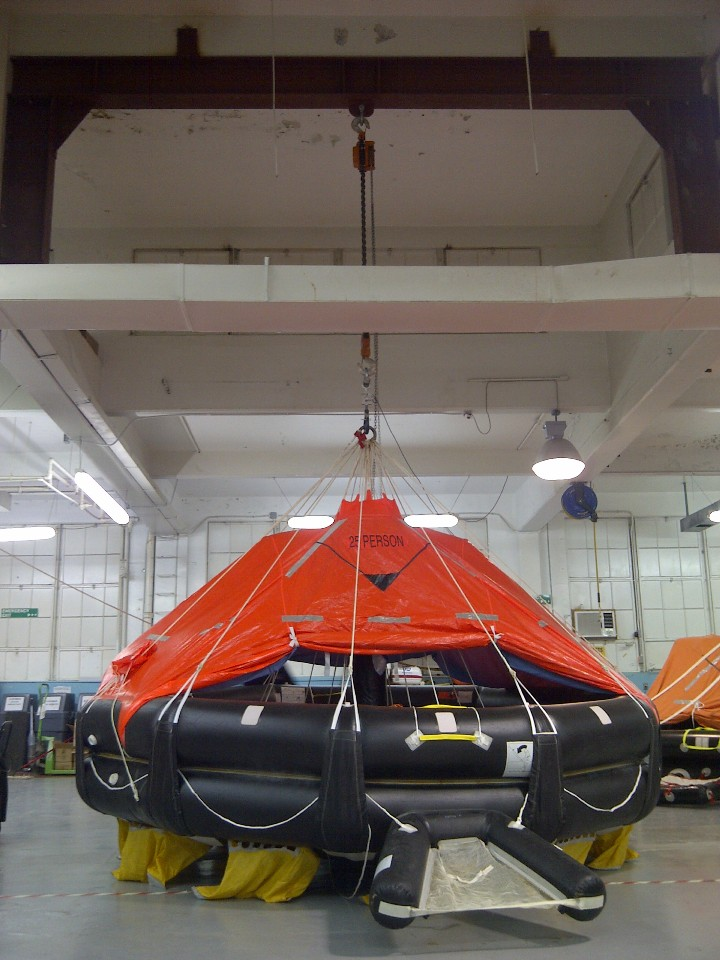 Approved Liferaft Service Station Trinidadmarine Safety
