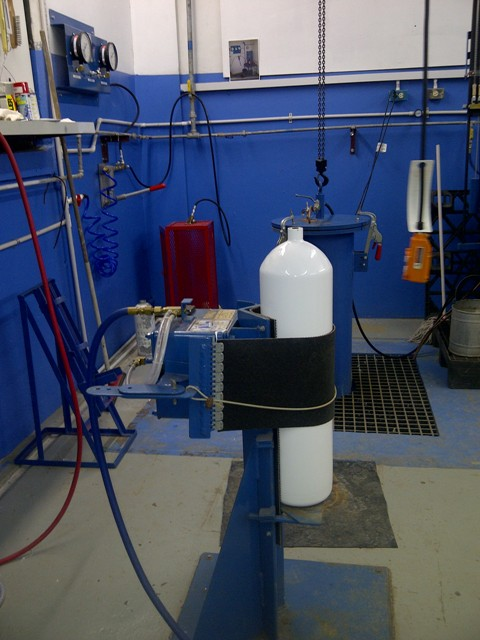 Cylinder Hydrotesting And Re Qualification Marine Safety